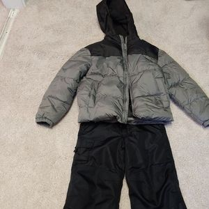 Puffy Jacket € Snow ski Pants 2pc